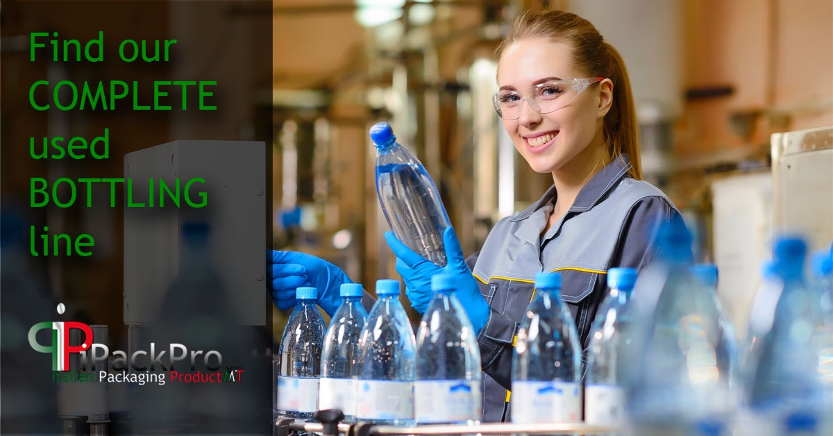 Discover our BOTTLING LINES are used!