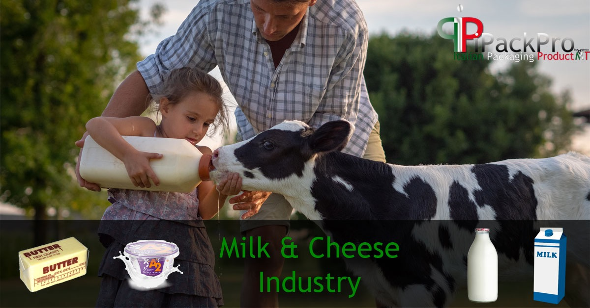 Milk and milk derivatives - solution for the packaging!