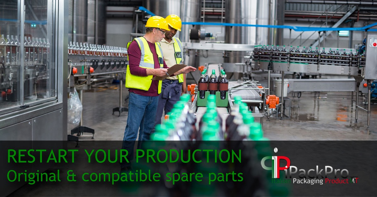 Safe restart production - SPARE PARTS FOR BOTTLING LINES!
