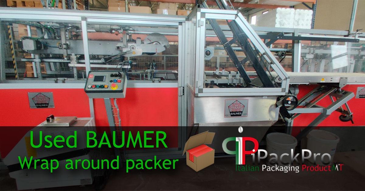 New Arrival - Wrap Around BAUMER Case Packer
