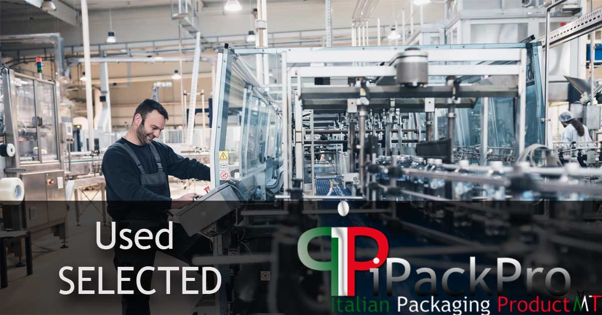 Used SELECTED - Bottling & Packaging machinery