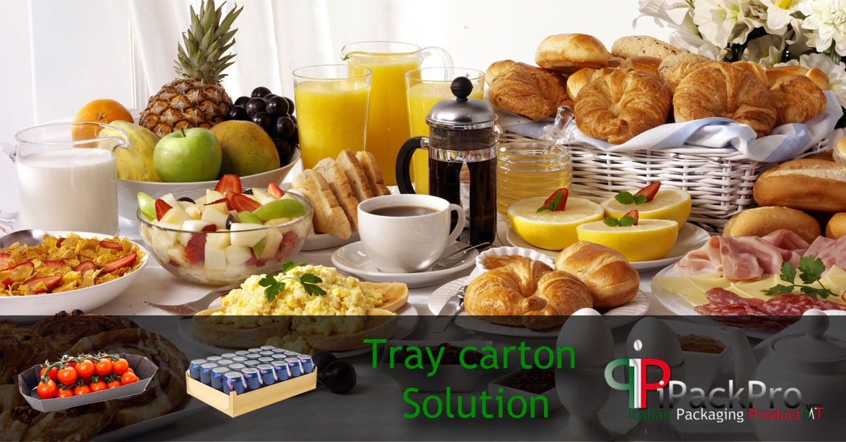 Solutions for the packaging of trays in carton