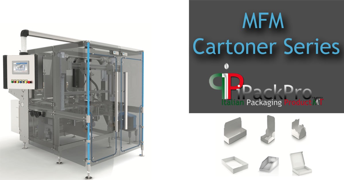 MFM Cartoner Series - Automatic Tray Forming Machine